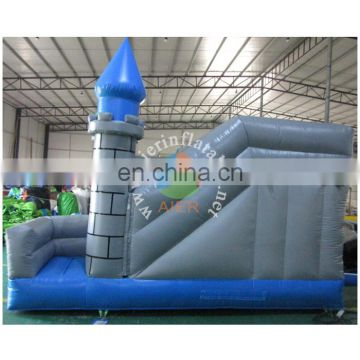 2017 Aier inflatable castle bouncer with water slide