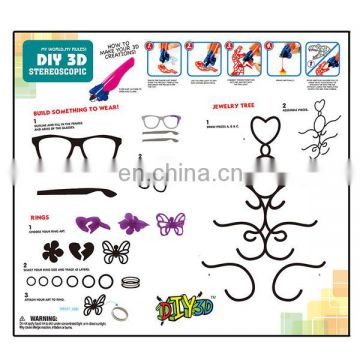 High quality children diy game 3d pen drawing toys for good sale