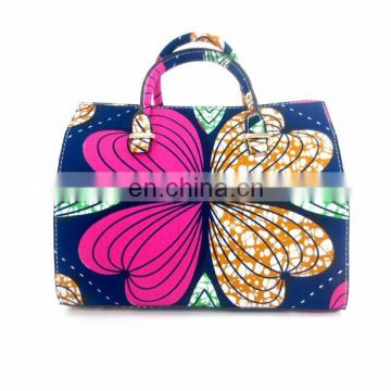 2017 china suppliers wax print fabric/african wax print shoes and bags /ankara shoes and bags