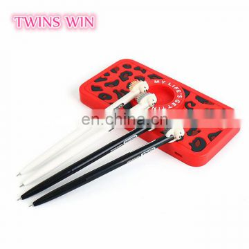 Promotion gifts high quality school stationery items list 2018 hotsale branded personalised pens with custom logo