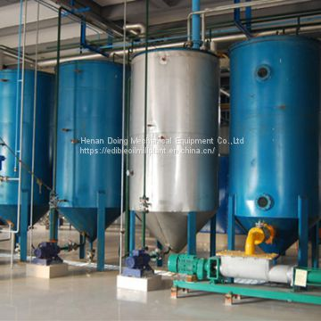 30-50tpd corn germ oil refining machine ,cooking oil refining production line