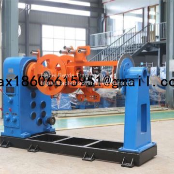 low price high quality cable strander steel wire armouring machine cable and wire armored equipment 400/500/800