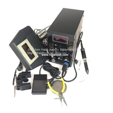 Big Power 150A Argon Spot Welders with 8x Magnifying Glass Optical Device Jewelry Argon Spot Welder