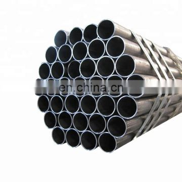 2016 constructal carbon black erw round welded steel pipe tube