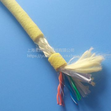 Multi-core Blue Underwater Fiber Optic Cable