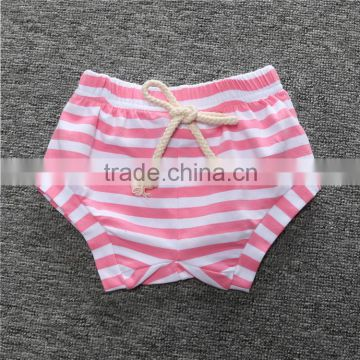 2016 Summer Baby Shorts INS Kids PP Pants Newborn Baby Infant Clothing Striped Pants Shorts Leggings Children Clothes