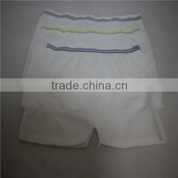 Wholesale Medical incontinence fixation mesh underwear for fecal incontinence