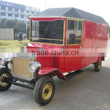 Chinese luxury 4 wheel fast food car electric mobile ice cream vending truck
