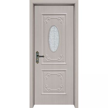New Design Waterproof Plastic Pvc Bathroom Door From Pvc Door Factory