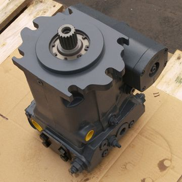 A4vg125hd1d2/32r-ntf02f691p 140cc Displacement Rexroth A4vg Hydraulic Piston Pump Thru-drive Rear Cover