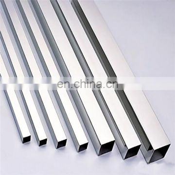 BA surface 316 316l 317 stainless steel square pipe