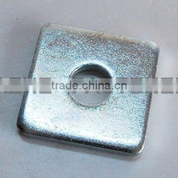high quality square washer with zinc plated