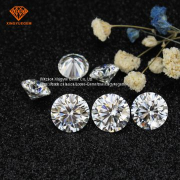 Forever one round cut VVS1 3mm 5mm synthetic diamond loose