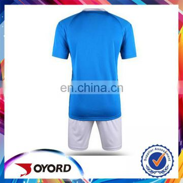 Top quality fabric comfortable football jersey set