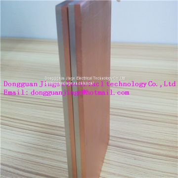 Copper aluminum composite joint different size electrical