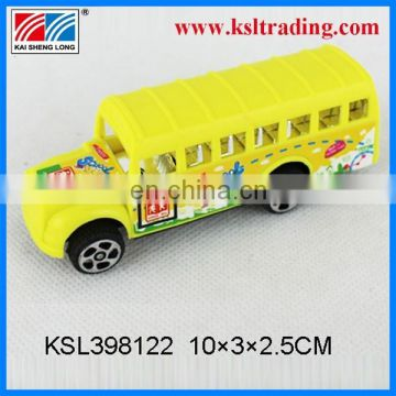 funny for kids pull back school toys mini bus