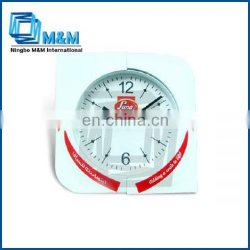 Colorful plastic promotion wall clock different shape