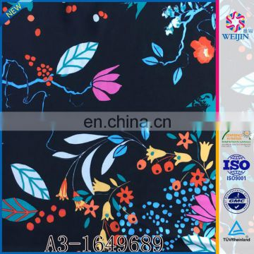 Best Cheap Elastane Underwear Big Flower Print Fabric