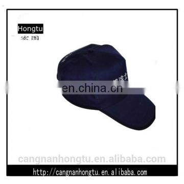 100% Cotton Customized Fashion blue baseball caps