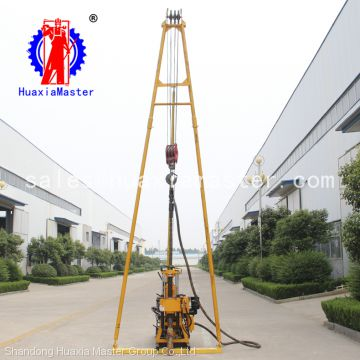 China Manufacturer HZ-200Y Best Price Small Borehole Rock Core Water Well Drilling Rigs For Sale