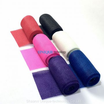 Colorful Medical Casting Tape Made in China Fiberglass Cast Bandage Free Samples
