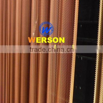 aluminium alloy Woven Wire Drapery for Room divider ,residential house , Metal balustrade | generalmesh