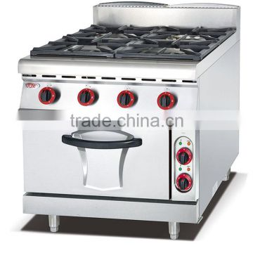 Gas cooking range/gas cooker with oven/gas range with 4 burner and oven(ZQW-878)