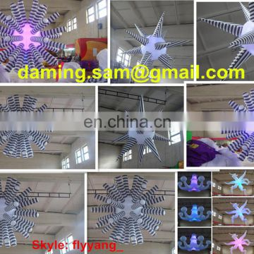 ak-44 Holiday decoration inflatables/inflatable pillar with led /lighting pillar