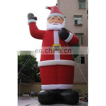 inflatable santa(with gift), holiday inflatables