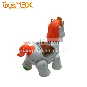 Nontoxic Eco-friendly Battery Electric Horse toy plastic
