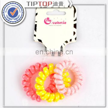 Girls Hair Accessories Candy Colors Telephone Line Hair Rope Hair Accessories Spring Rubber Band Hair Ring