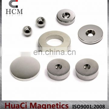 Strong Sintered NdFeB magnets