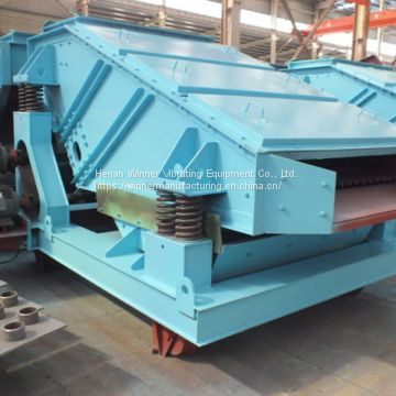 ZK linear vibrating screen for mining