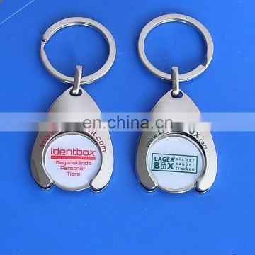 Customized Token Coin Shopping Keychain