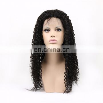 Youth Beauty Hair 2017 best saling 9A Indian human hair lace front wig in kinky curly raw unprocessed hair