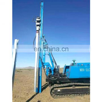 Big promotion Hydraulic Static pile driver machine Guardrail hammer pile driver