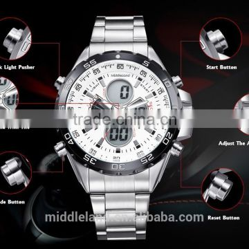 2015 gift wristwatches manufacturer japan movt quartz watch stainless steel back