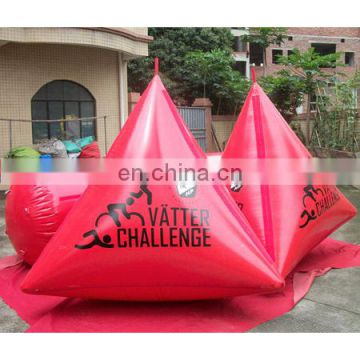 2014 new! inflatable buoys water events, sports water buoy, swim buoy.
