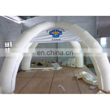 Inflatable tent, inflatable spider tent with digital printing logo with zipper doors