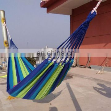 2016 Colorful portable Nylon Fabric Travel Camping Hammock