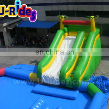 10 m Length Pool 4 m Length Slide Water Park Equipment With Cheap Price For Sale