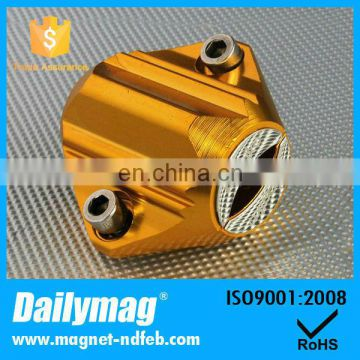 Auto engine oil filter magnet