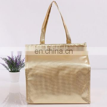 gold foil cooler bag