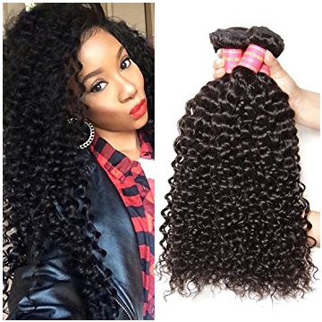 16 Inches Mixed Color Full Shedding free Lace Curly Human Hair Wigs Natural Wave