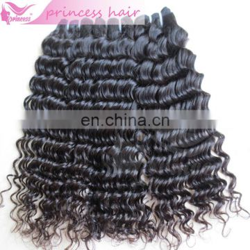 Beautiful deep curly 100% virgin human hair from alixpress