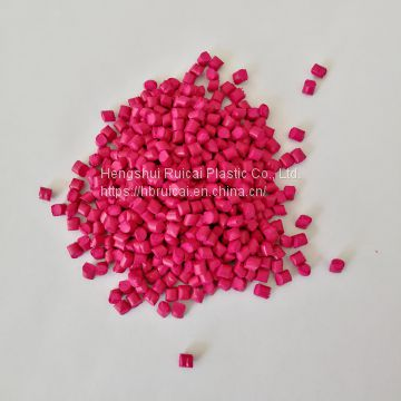 Plastic Color Masterbatch Pink Masterbatch for PE/PP Professional Manufacturer