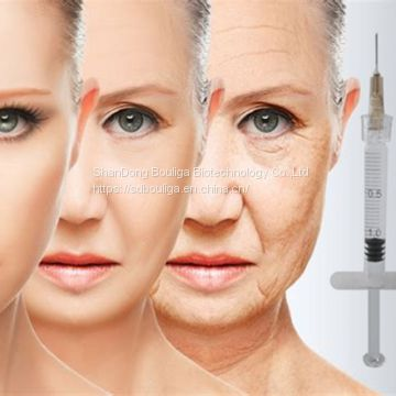 hyaluronic acid injectable dermal filler 2ml derm cross linked for restore volume and fullness to skin