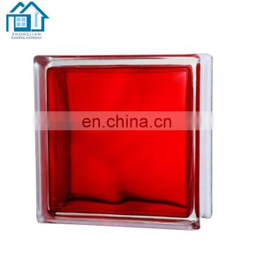 Building decorative raw crystal hollow corner Clear Glass Block