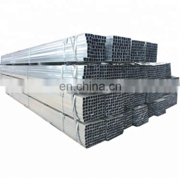 Professional galvanized SHS HDG Rectangular gi square steel pipe