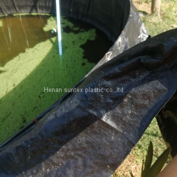 20 years usage life HDPE reinforced pond liner,any size can be customized fish farming liner,UV treated waterproof membrane